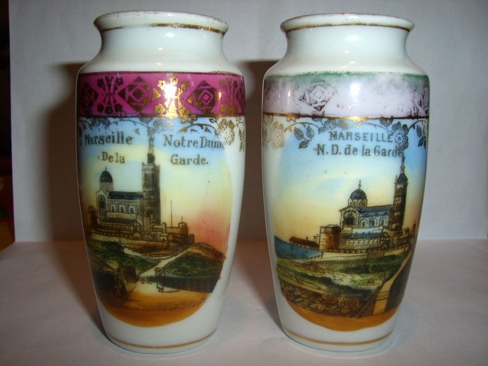 Gerros de porcellana comprats per Bau en un desplaçament a Marsella