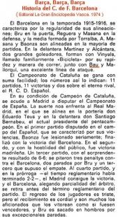 Bau en el Barcelona de la temporada 1915-1916