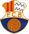 Escudo antiguo del C.F.Badalona